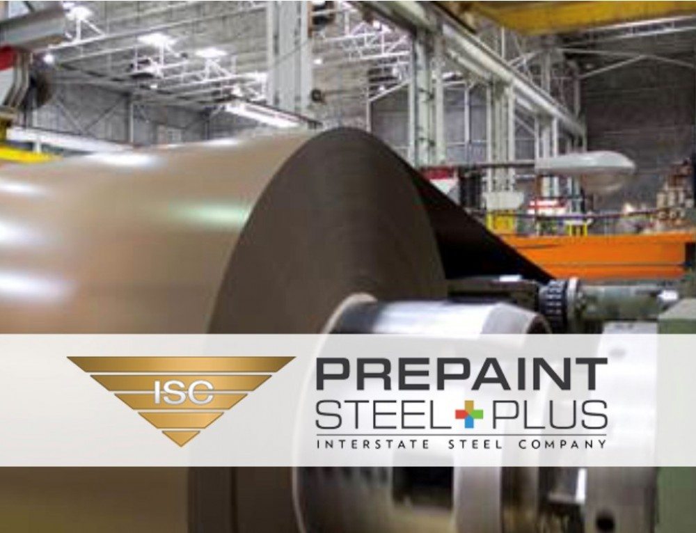 Pre-Painted Steel by NMC Partner Interstate Steel Company